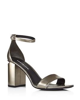 Alexander Wang - Women's Abby Utilitarian High Block-Heel Sandals