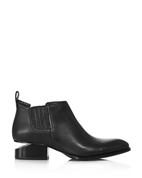 Alexander Wang - Women's Kori Pointed Toe Leather Ankle Boots