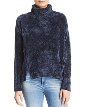 AQUA - Chenille Turtleneck Sweater - 100% Exclusive