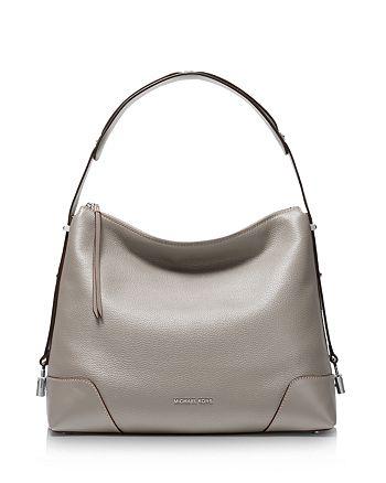 1ab3c5aeffdd8f MICHAEL Michael Kors Crosby Large Leather Shoulder Bag | Bloomingdale's