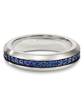 David Yurman - Streamline Band Ring with Sapphires