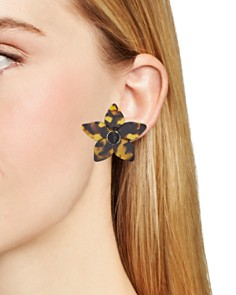 BAUBLEBAR - Ashaya Floral Resin Drop Earrings