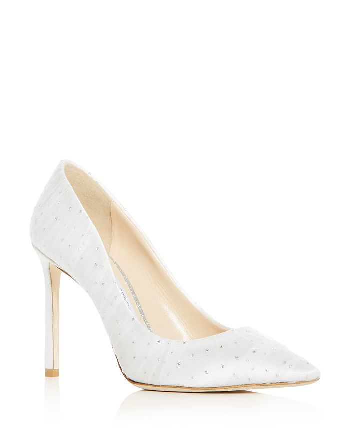 Jimmy Choo - Women's Romy 100 High-Heel Pointed Toe Pumps