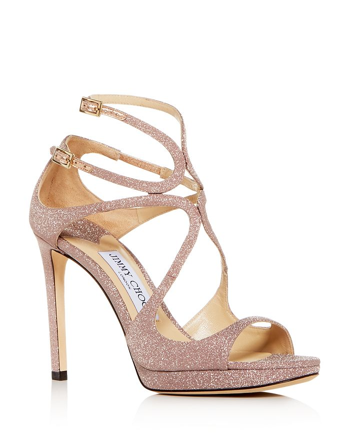 13dc88ddc95c Jimmy Choo Women s Lance 100 Strappy High-Heel Platform Sandals ...