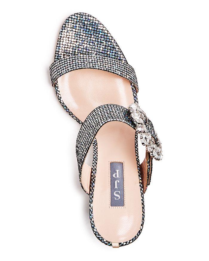 3db5539976a SJP by Sarah Jessica Parker - Women s Celia High Block-Heel Slide Sandals
