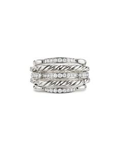 David Yurman - Tides Dome Ring with Diamonds