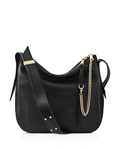 REISS - Relaxed Leather Shoulder Bag