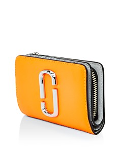 MARC JACOBS - Leather Compact Continental Wallet
