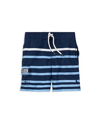 Ralph Lauren - Boys' Kailua Striped Swim Trunks - Little Kid