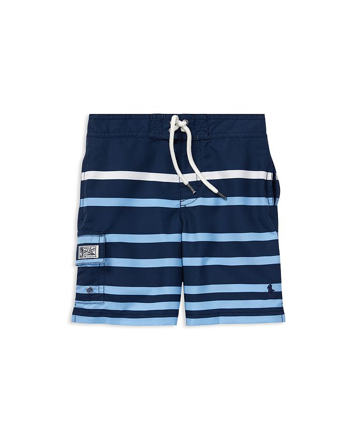 059e670d92 Ralph Lauren Boys' Kailua Striped Swim Trunks - Little Kid ...