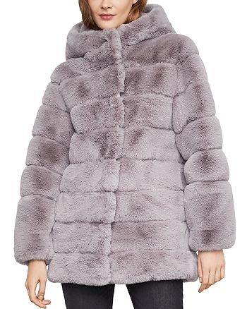 BCBGMAXAZRIA - Felicia Faux Fur Hooded Coat 6652774c2f96