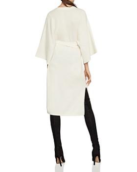 BCBGMAXAZRIA - Tie-Waist Sweater Dress