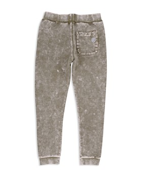 Butter - Boys' Mineral-Washed Fleece Jogger Pants - Big Kid