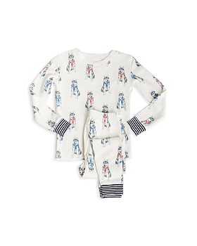 PJ Salvage - Girls' Huskies Pajama Shirt & Pants Set - Little Kid
