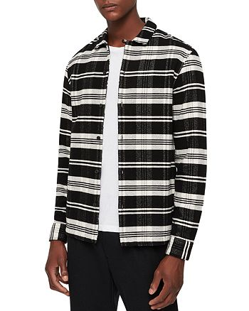 ALLSAINTS - Cervino Checked Shirt Jacket