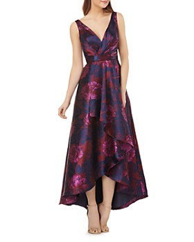 Carmen Marc Valvo Infusion - High/Low Floral Ball Gown