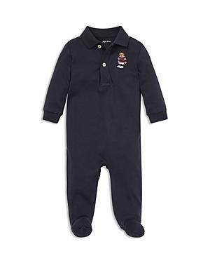 Ralph Lauren Boys Polo Bear Cotton Footie  Baby