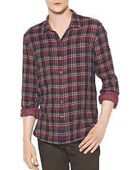 John Varvatos Star USA - Double-Faced Reversible Regular Fit Shirt