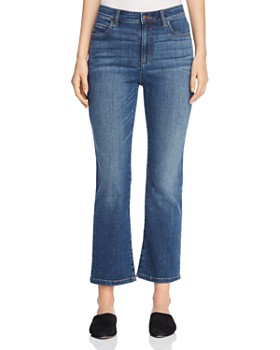 Eileen Fisher - Cropped Bootcut Jeans in Aged Indigo