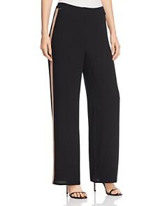 Eileen Fisher Petites - Silk Side Stripe Pants