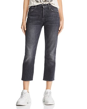 MOTHER - Tomcat Cropped Straight-Leg Jeans in Say You're Sorry