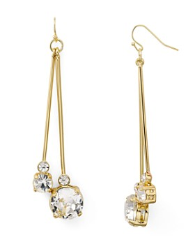 AQUA - Crystal Drop Earrings - 100% Exclusive
