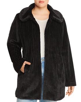 Estelle Plus - Chenille Coat