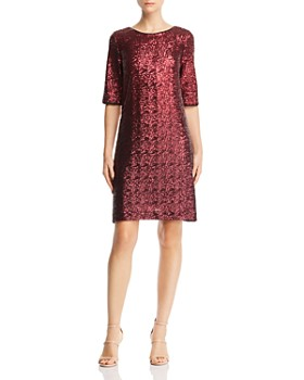 69d291082b7 Betsey Johnson - Sequined Shift Dress ...
