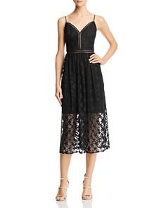 Betsey Johnson - Star-Lace Midi Dress