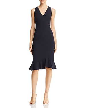 Betsey Johnson SCUBA-CREPE DRESS