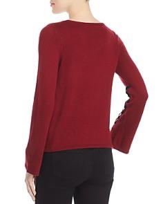 Design History - Velvet-Trim Sweater