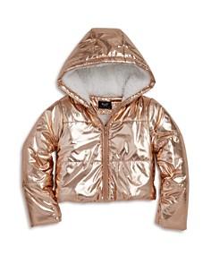 Bardot Junior - Girls' Alexa Metallic Puffer Coat - Little Kid