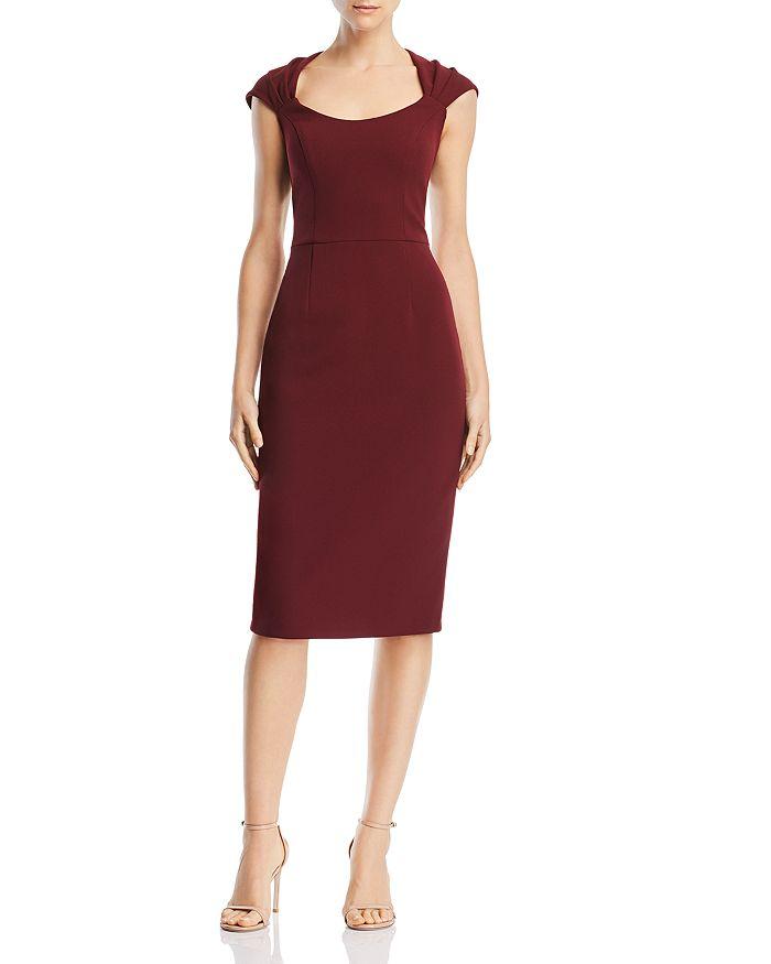 AQUA - Scuba-Crepe Dress - 100% Exclusive