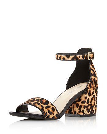 Kenneth Cole - Women's Hannon Leopard Block Heel Sandals
