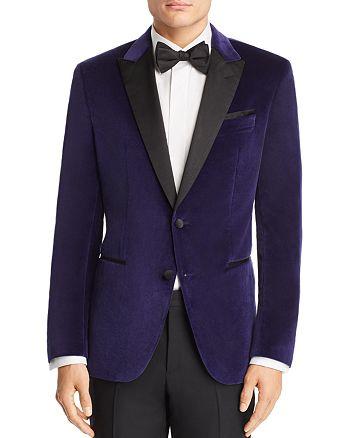 BOSS Hugo Boss - Helward Velvet with Satin Lapel Slim Fit Tuxedo Jacket
