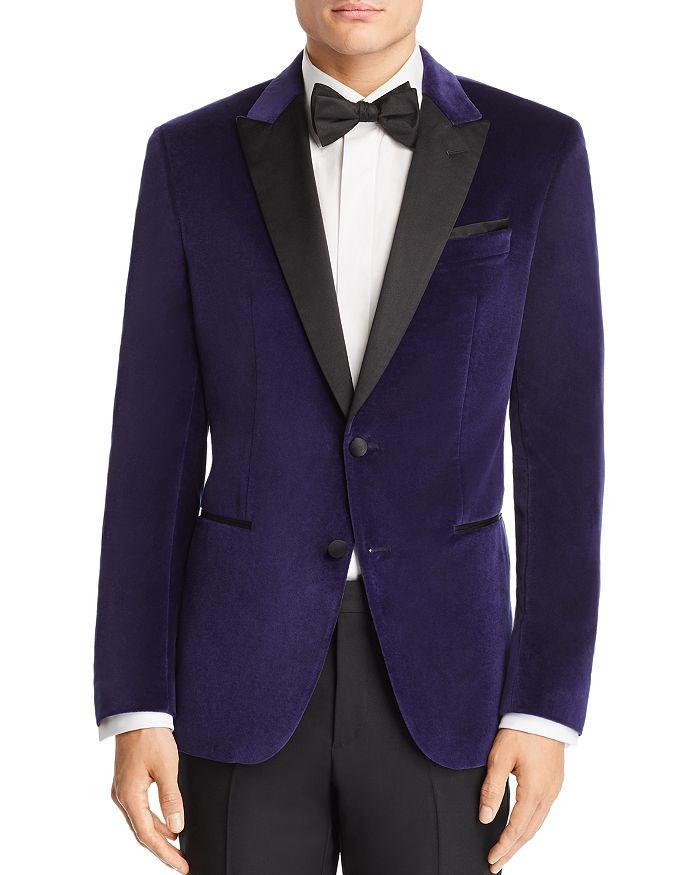 434cfab82491 BOSS Hugo Boss - Helward Velvet with Satin Lapel Slim Fit Tuxedo Jacket