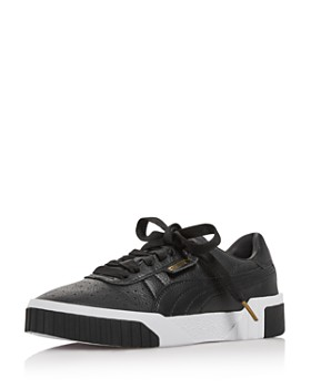 b9d31ed732c PUMA - Women s Cali Low Top Leather Sneakers ...
