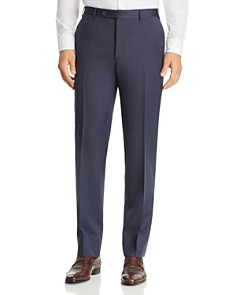 Canali - Siena Cavalry Twill Classic Fit Dress Pants