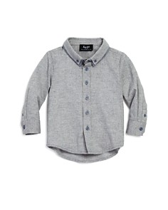 Bardot Junior - Boys' Heathered Button-Down Shirt - Baby