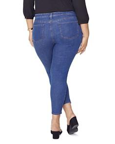 NYDJ Plus - Ami Skinny Jeans in Batik Blue