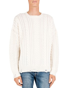 The Kooples - Cable-Knit Wool & Cashmere Sweater