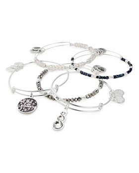 Alex and Ani - All That Glitters Charm Bracelets, Set of 5