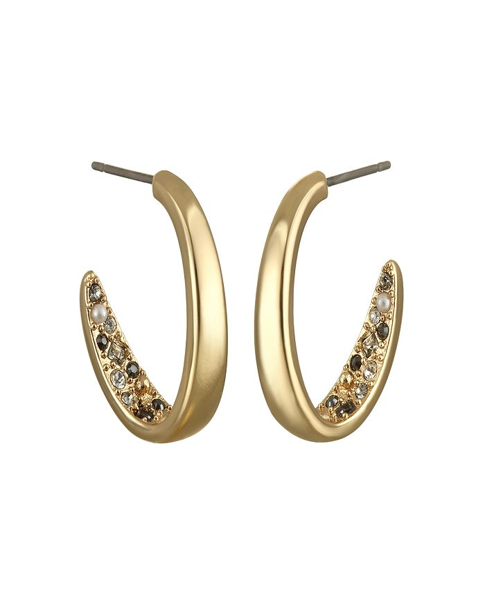 KARL LAGERFELD Paris - Crystal Hoop Earrings