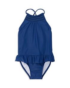 Ralph Lauren - Girls' Smocked Swimsuit - Baby