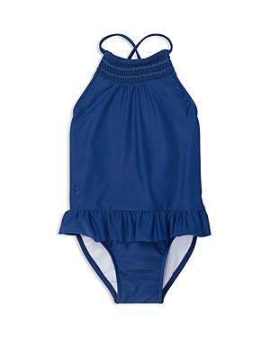 Ralph Lauren Girls Smocked Swimsuit  Baby