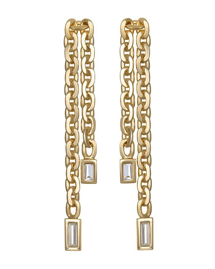 KARL LAGERFELD Paris - Liquid Chain Earrings