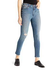 Ella Moss - High-Rise Ankle Skinny Jeans in Pine