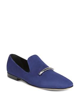 Via Spiga - Women's Tallis Almond Toe Loafers