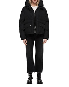 ALLSAINTS - Ester Hooded Puffer Coat