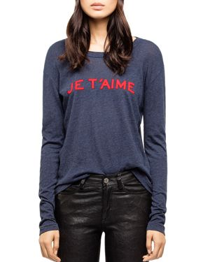 Zadig & Voltaire Willy Chine Graphic Tee